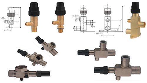 Brass and Steel Angle Valves